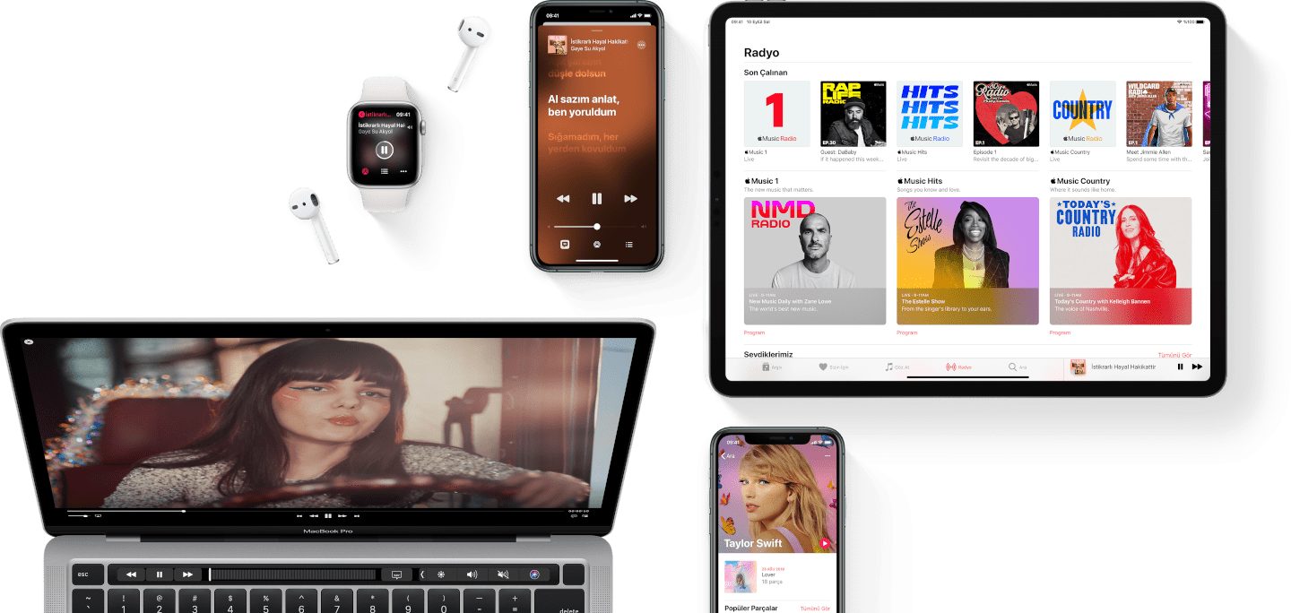 Apple music section 1